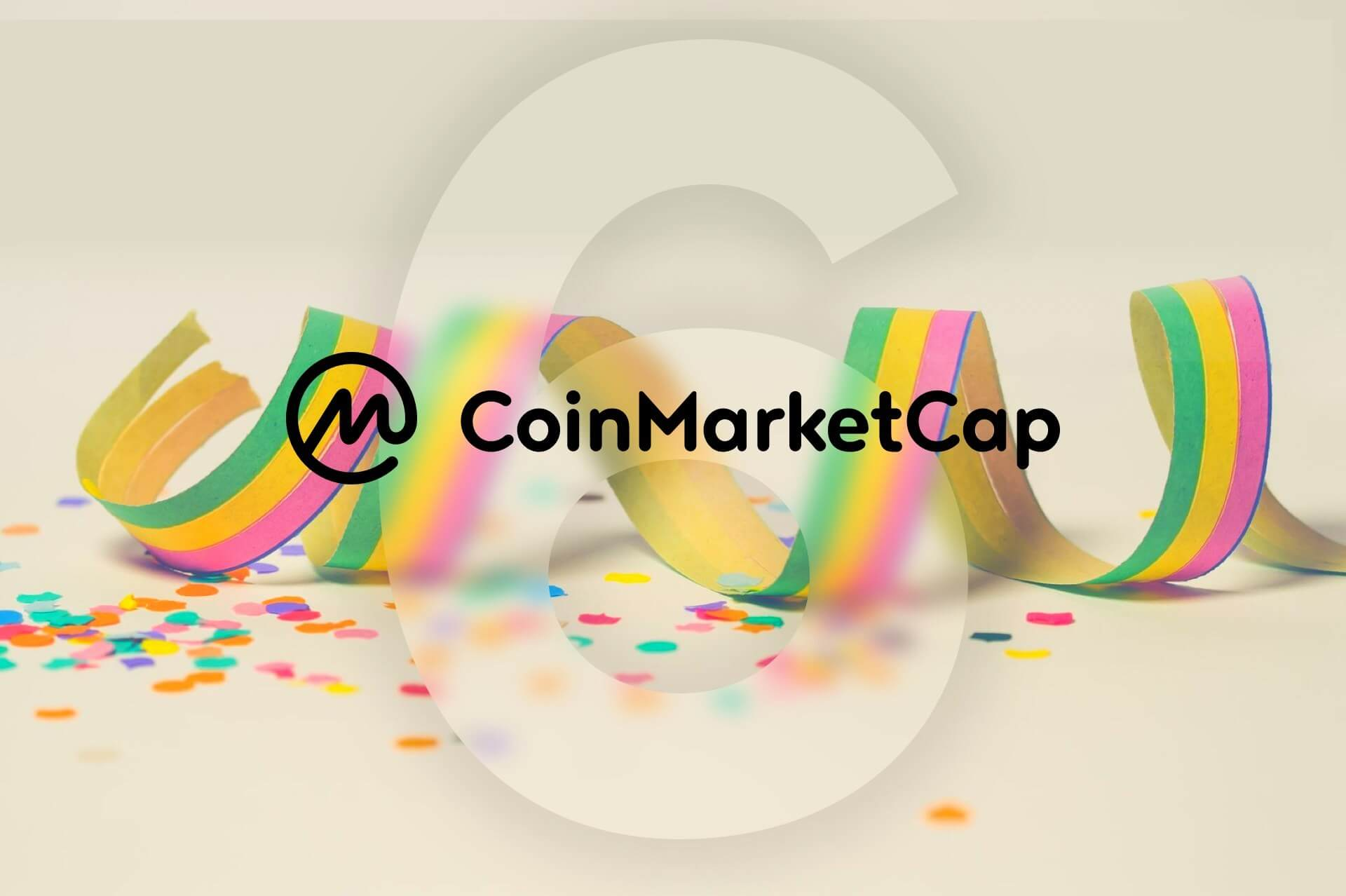 Coinmarketcap | Exchange |Listings | Anniversary