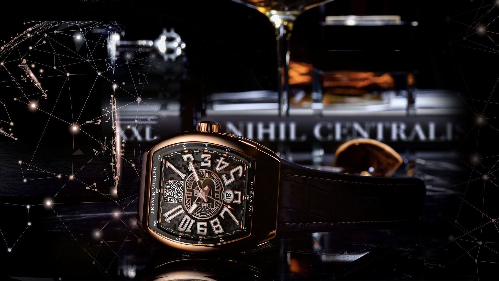Franck Muller |  Bitcoin | Watch | Bitcoin Wallet | Cryptocurrency
