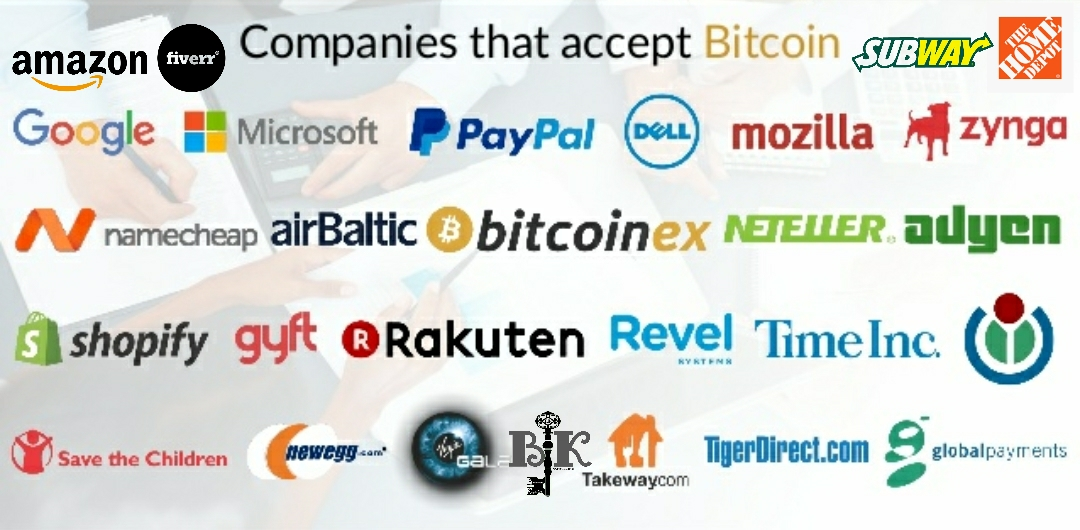 what companies accept bitcoin