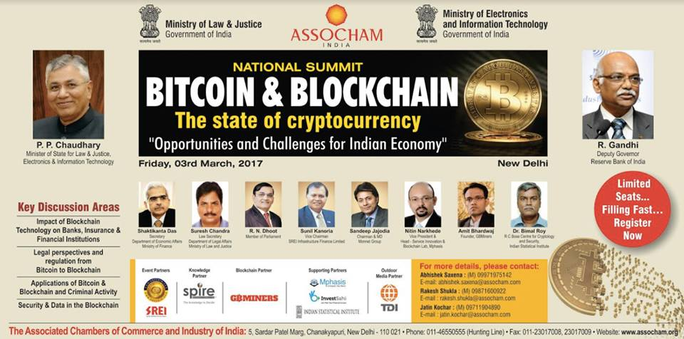 ASSOCHAM organizes National Summit on Bitcoin & Blockchain