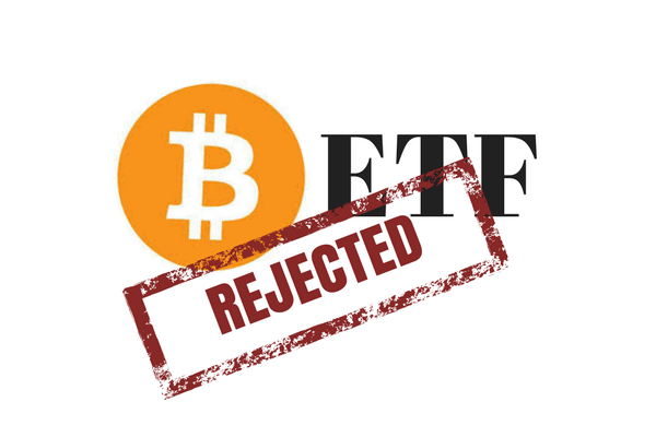 US SEC rejects Bitcoin ETF application