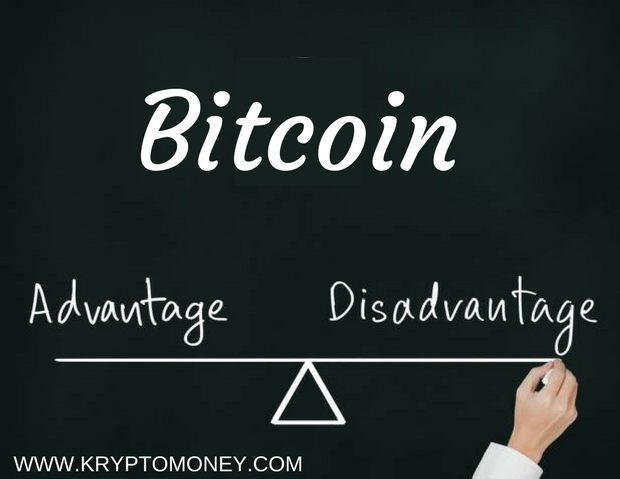 What Are The Advantages And Disadvantages Of Bitcoins ?