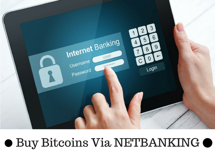 Buy Bitcoin Through Net Banking