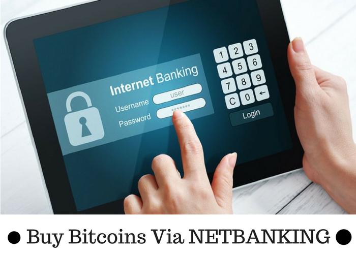 Buy Bitcoin Through Net Banking