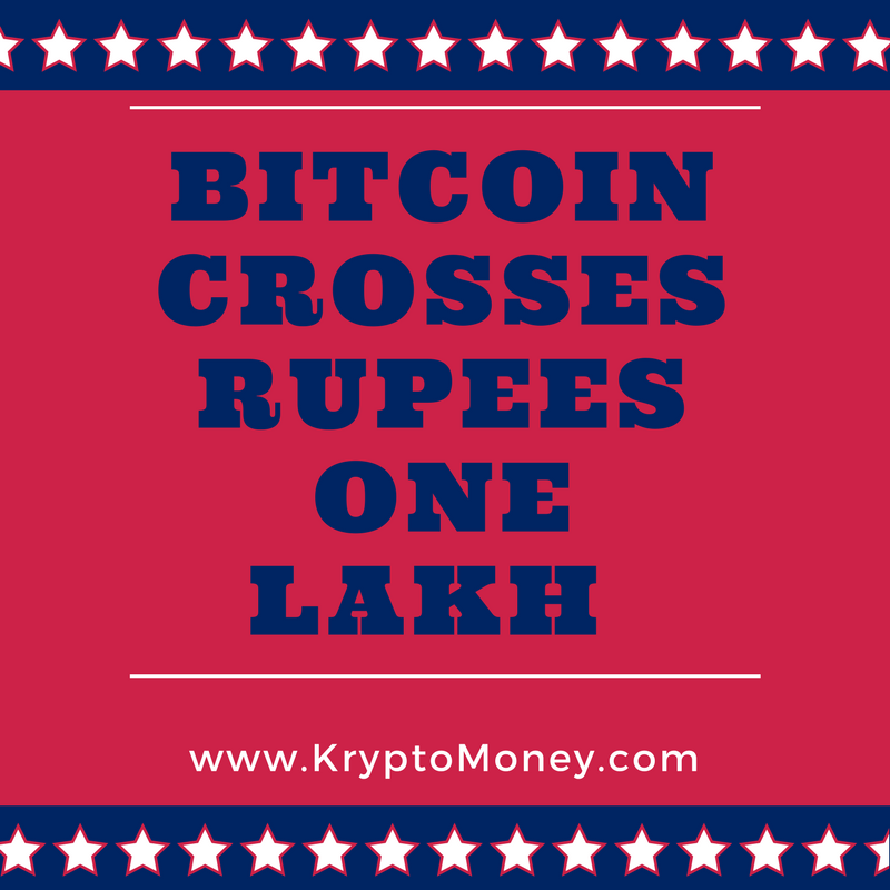 Bitcoin Price Crosses Rs One Lakh