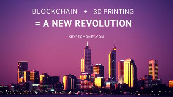 Blockchain meets 3D Printing