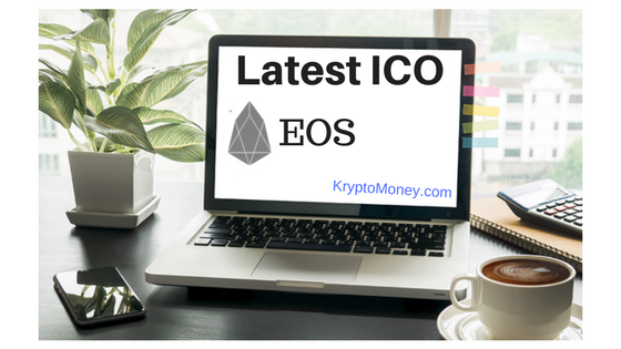 ICO, Latest ICO, Initial coin Offering, New ICO, EOS, EOS ICO