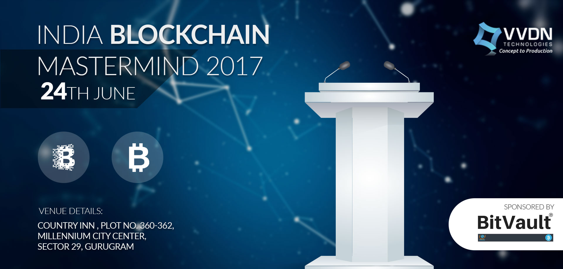 Blockchain Event in Gurugram,India