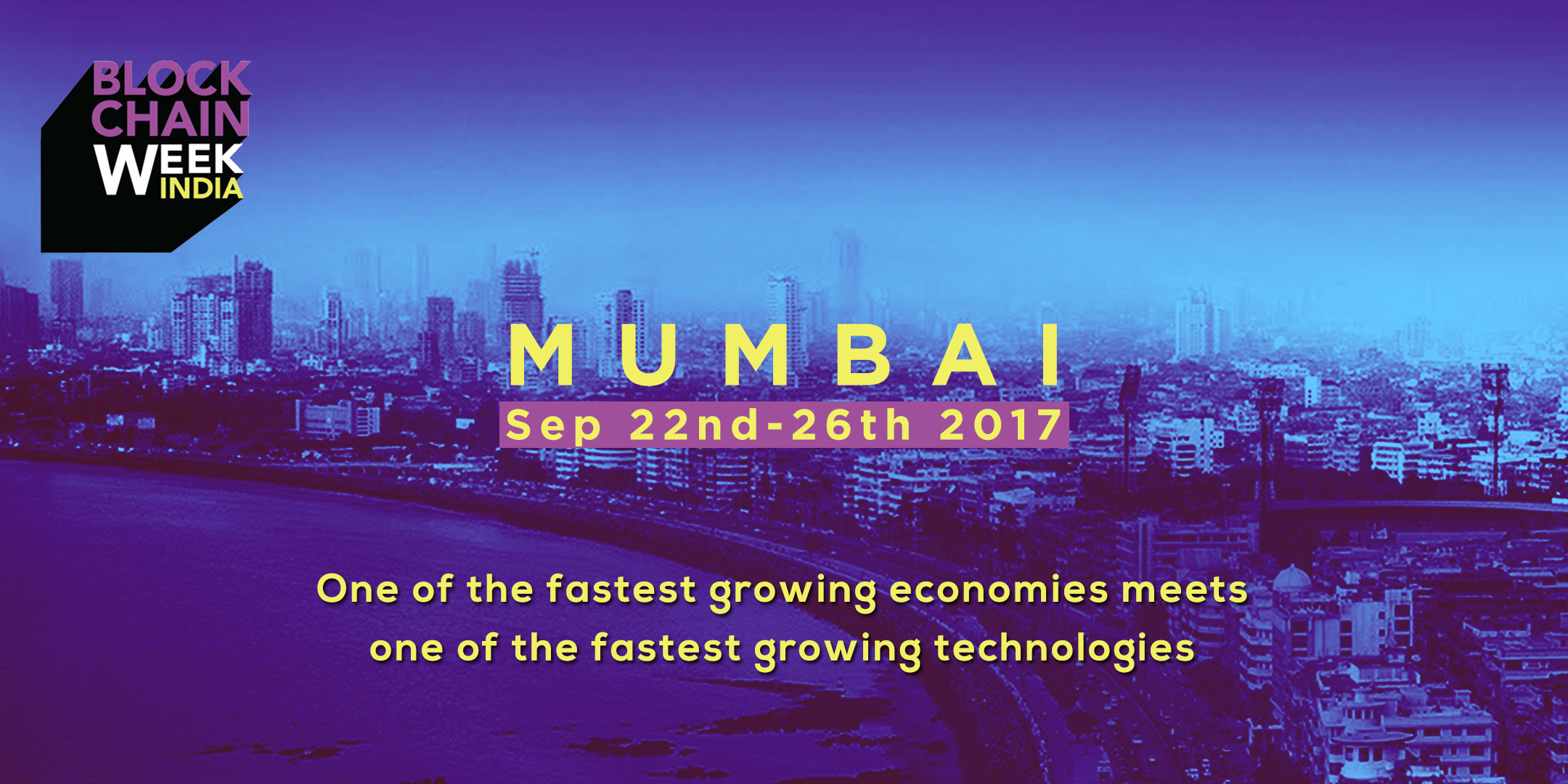 India Blockchain Week Septemeber 2017 Mumbai