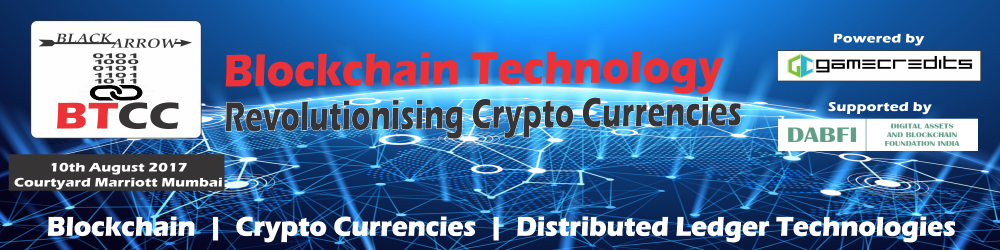 Blockchain Technology and Crypto Currency Conference 2017