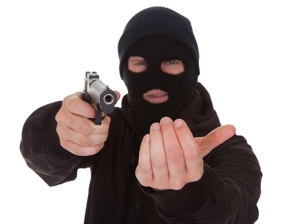robbery In this day and time robbery should not be a very lucrative crime, it is detectable from all the street cameras about the city, so think twice before committing a robbery today it is not a very smart thing to do.