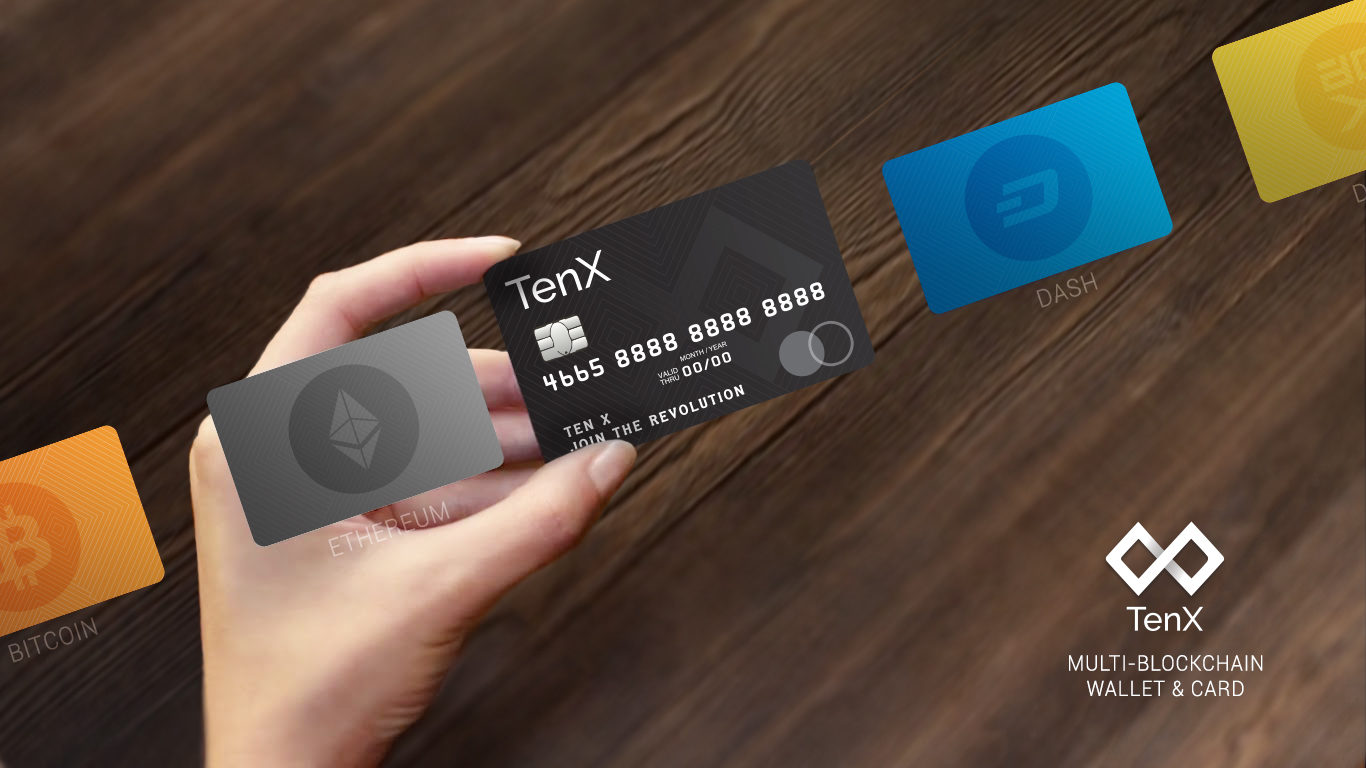 TenX: Spend Your Cryptocurrency At Any Merchant That Accepts VISA Card