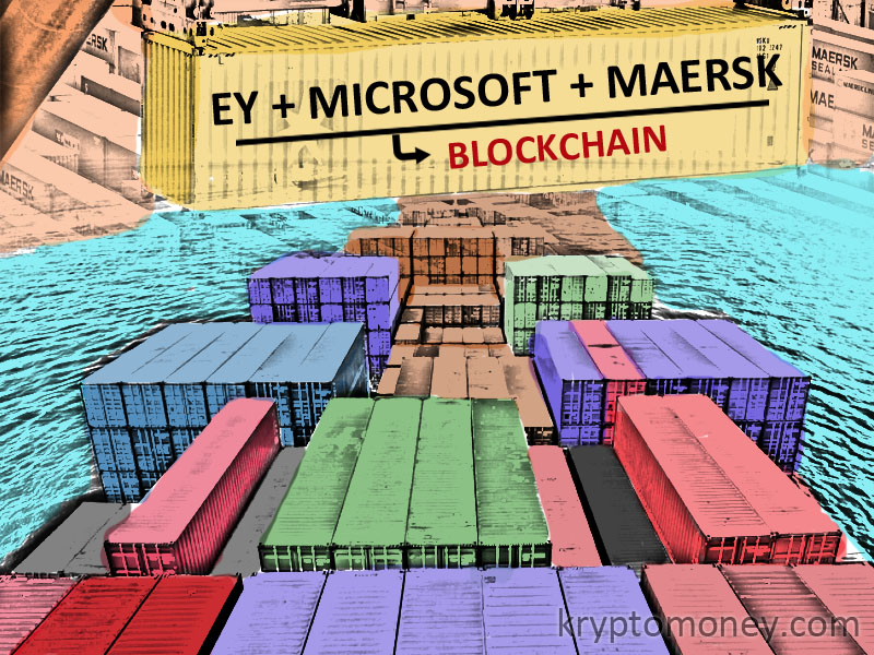 EY Collaborates With Microsoft, Maersk To Launch Blockchain Enabled Marine Insurance