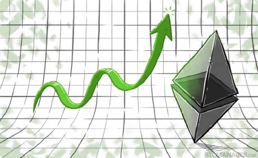 Ethereum Price Rises After The Metropolis Hard Fork