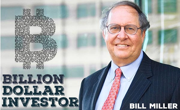 Legendary Investor Bill Miller's Hedge Fund has 30% of Assets in Bitcoin