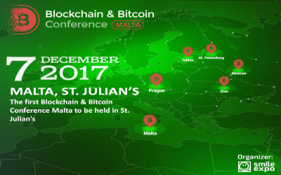 The First Blockchain & Bitcoin Conference Malta to be held in St. Julian