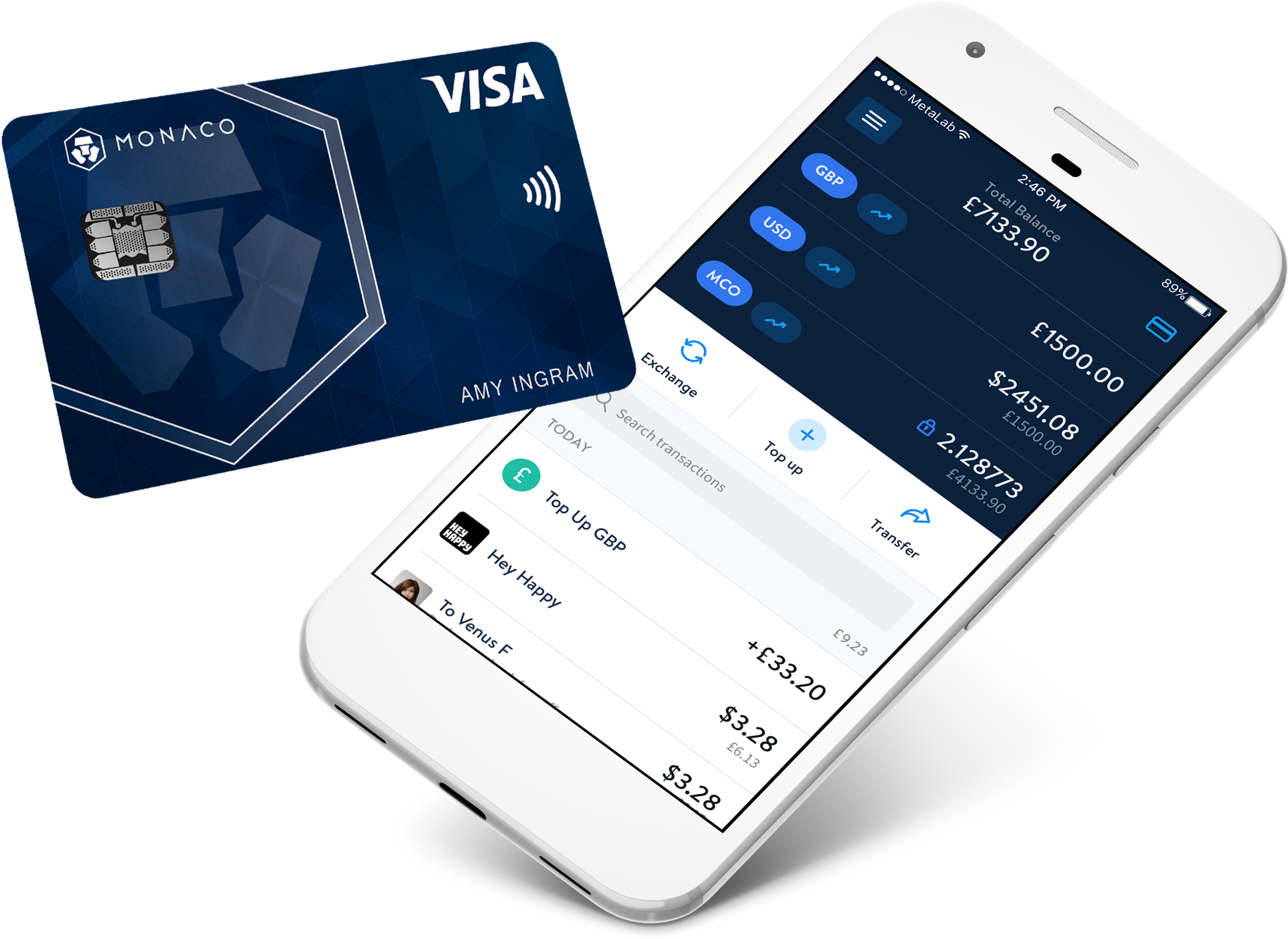 Monaco Cryptocurrency Card Gets a Nod from Visa