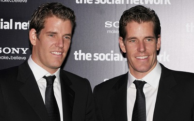 Winklevoss Twins Becomes The World's First Bitcoin Billionaires