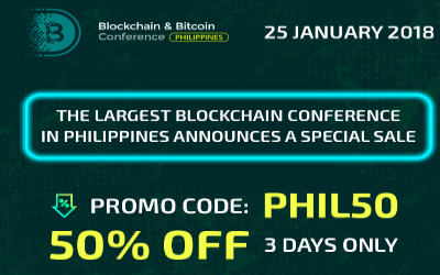 50 % Discount On Blockchain & Bitcoin Conference