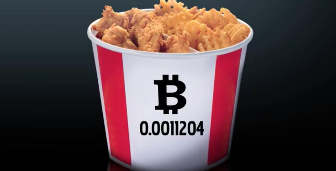 KFC In Canada Accepts Bitcoins In Payments, Launches Bitcoin Bucket
