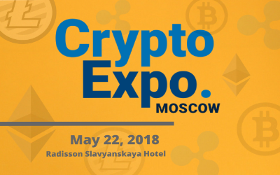 Moscow Welcomes Blockchain As CRYPTO EXPO MOSCOW Goes Live In May 2018