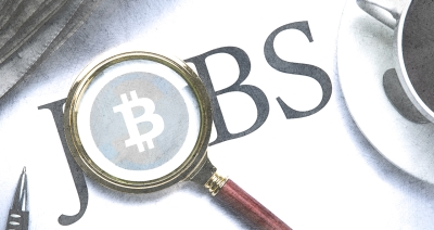 Cryptocurrency startup jobs indeed