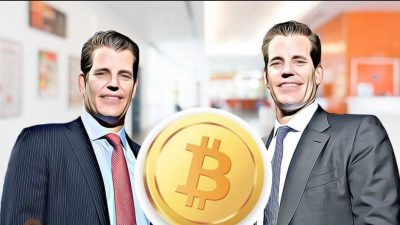 Bitcoin Price Will Hit $320,000 Says Winklevoss Twins