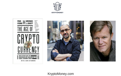 list of top 10 best bitcoin books | the age of cryptocurrency by paul vogna and micheal j casey | the age of cryptocurrencies by micheal j casey and paul vigna