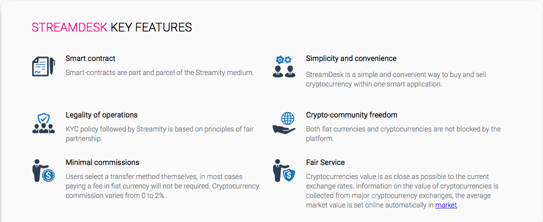 streamity ico | streamdesk ico | streamity decentralized cryptocurrency exchange | streamity DEX