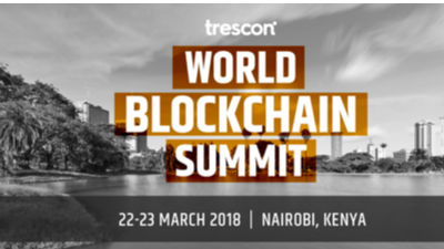 World Blockchain Summit Nairobi on 22-23 March 2018
