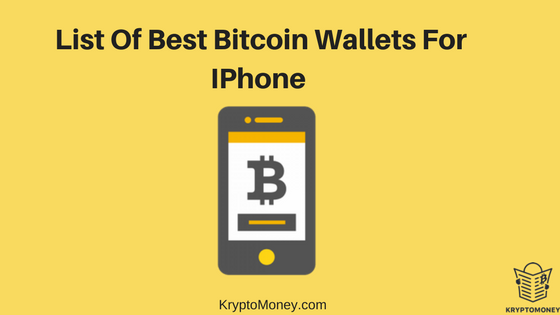 best cryptocurrency wallet app for iphone