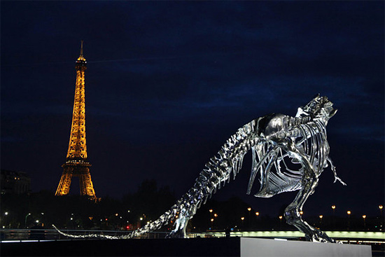 Dinosaur Skeleton to be auctioned in exchange for Bitcoins In Paris