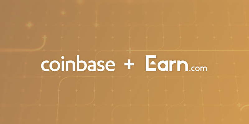 Coinbase Acquires Earn.com for $100 Million, Hires CEO as Chief Technology Officer
