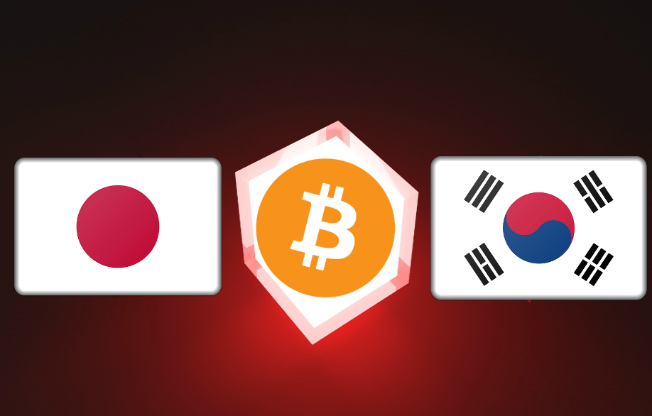 Despite Bitcoin Price Dip, Bitcoin Adoption Boosted by Japan and South Korea