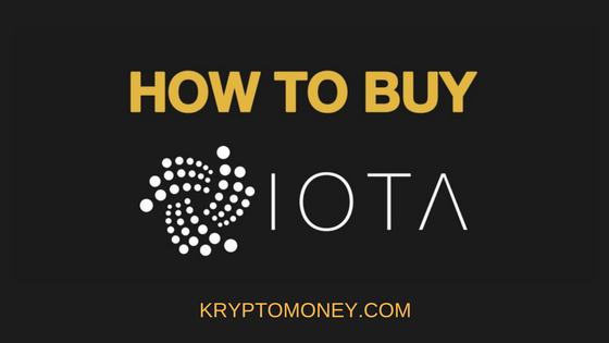 How To Buy IOTA Cryptocurrency | Where To Buy IOTA Cryptocurrency