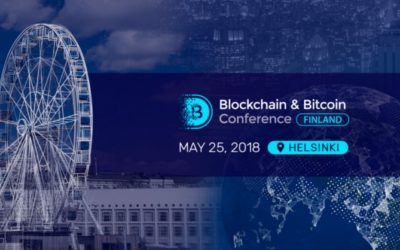 Join The Blockchain and Bitcoin Conference Finland, Helsinki on 25th May 2018