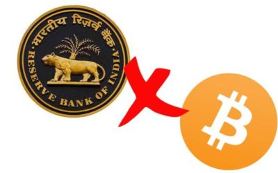 Cryptocurrency Businesses in India to Move Overseas Due to RBI Crackdown