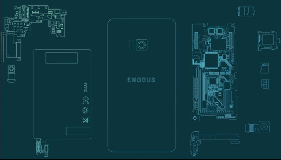 HTC Announces The Launch of Exodus, World's First Blockchain Phone