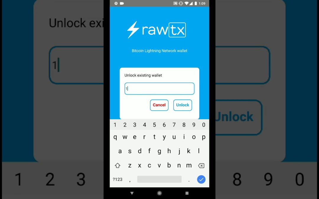 Rawtx Announces Launch of New Bitcoin Wallet on Lighting Network