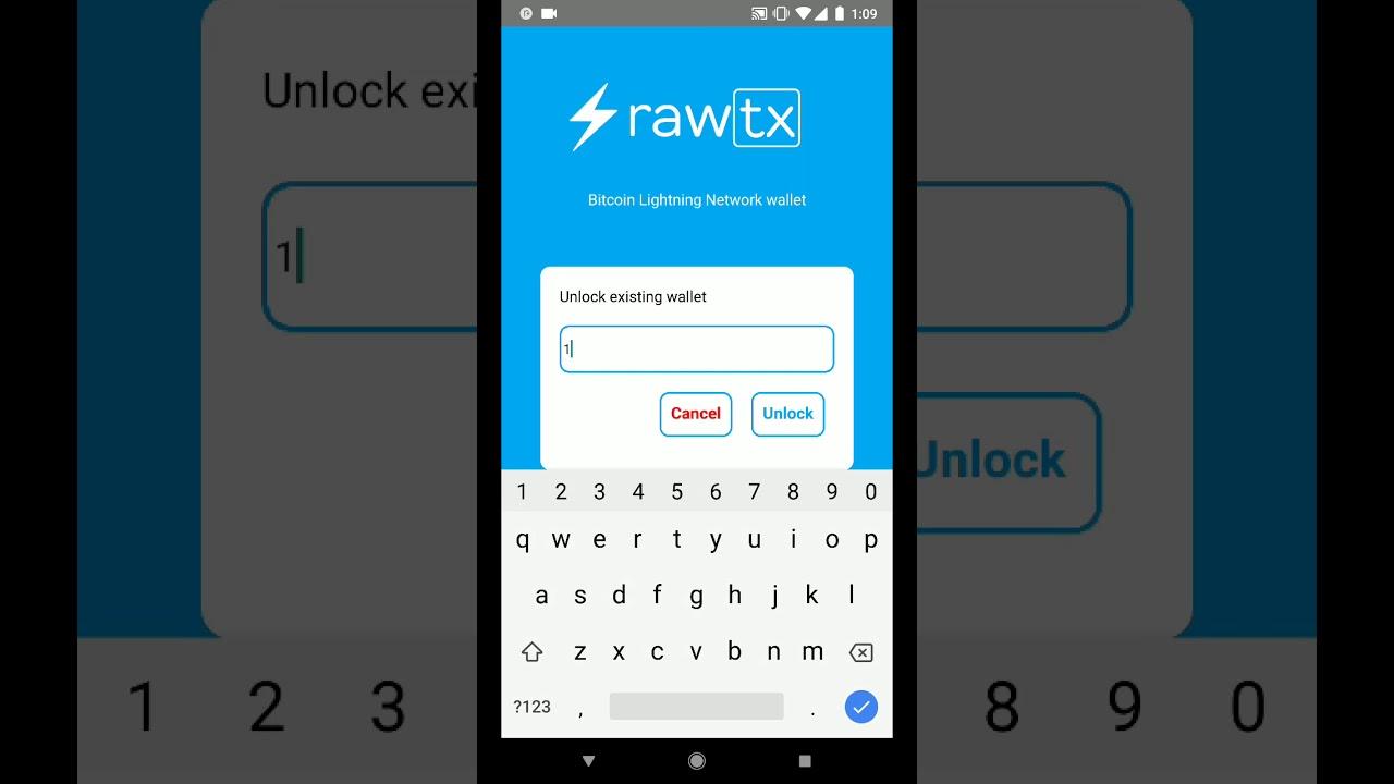 Rawtx | Bitcoin Wallet Android | lightning network | Bitcoin news