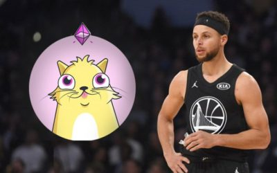 NBA Superstar Stephen Curry Becomes The First Celebrity to Release CryptoKitties
