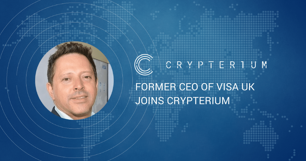 Marc O'Brien | Crypterium | Cryptocurrency Startup | Former Visa CEO | cryptocurrency updates