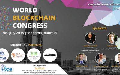 Join World Blockchain Congress 2018 in Bahrain from July 29 – July 30