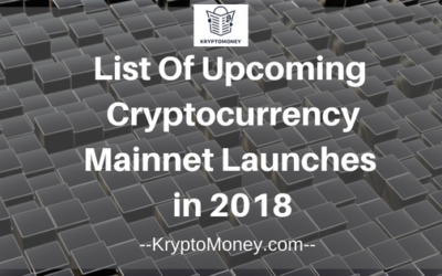 Upcoming Cryptocurrency Mainnet Launches