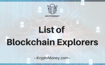 List Of Blockchain Explorers | Top Bitcoin Blockchain Explorers