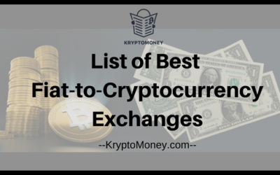 List Of Top 7 Best Fiat-to-Cryptocurrency Exchanges In US