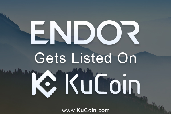 Endor (EDR) Now Trading on KuCoin Exchange Platform
