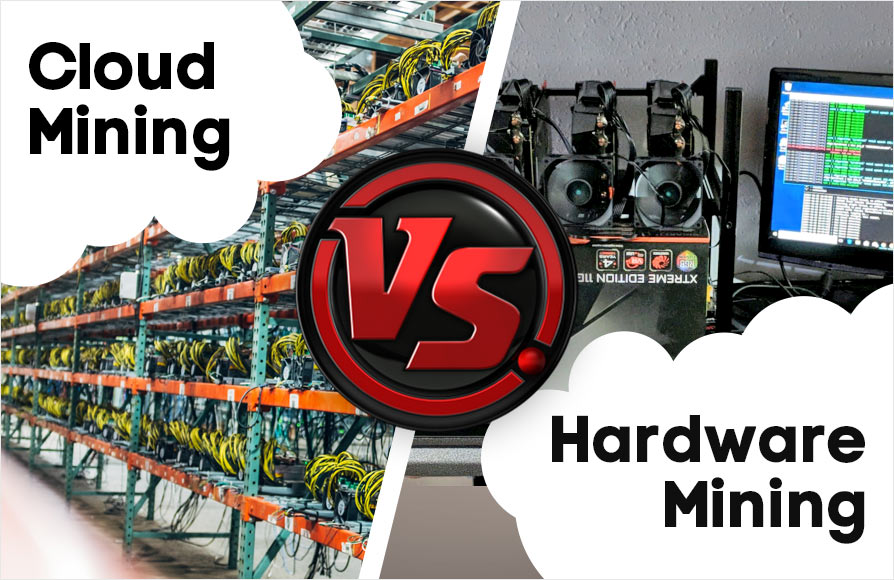 Cloud Mining Vs Hardware Mining for Bitcoin: Which is Better?