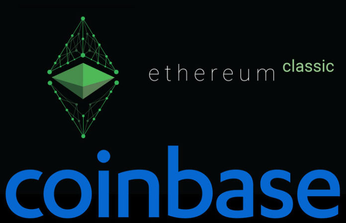 Coinbase | Coinbase adds Ethereum Classic | Ethereum classic news | ETC News | Coinbase updates | Coinbase latest news