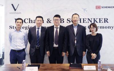 VeChain Blockchain Teams With DB Schenker For Supply Chain Services
